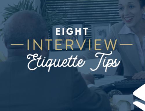 8 interview etiquette tips